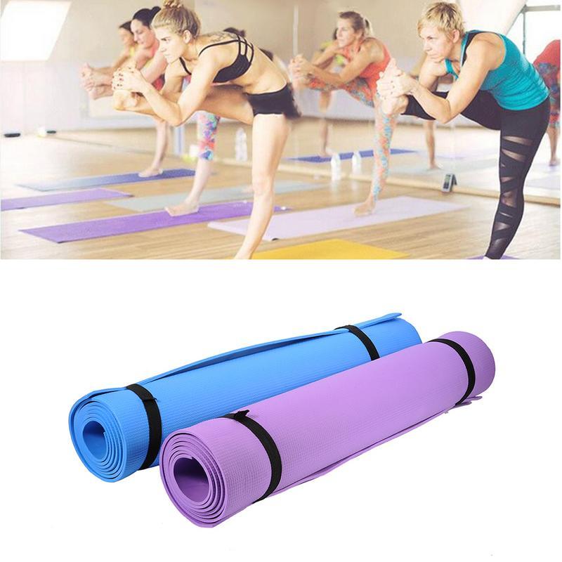 <+>  Водонепроницаемый пылезащитный коврик для йоги ①