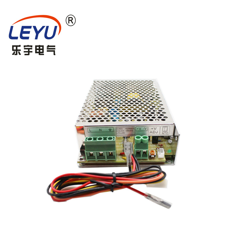 ups function led driver 75w power CE authentication overload protection battery charger SCP-75-24 switching power supply image