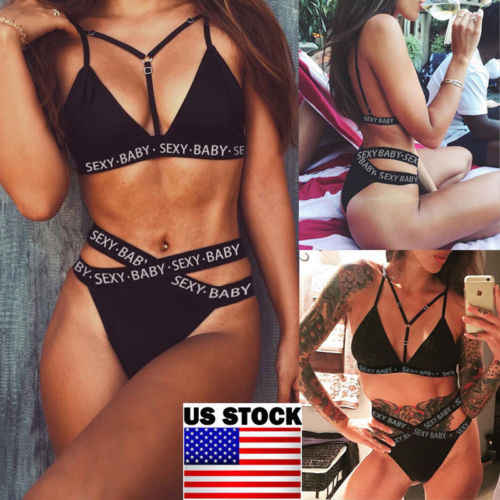 1bd00608d2bc4 Detail Feedback Questions about Womens Padded Push Up Bikini Sets High  Waisted Swimsuit Bathing Suit Swimwear US on Aliexpress.com | alibaba group
