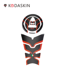 KODASKIN Tank Traction Gas Pad Knee Fuel Side Grips Protector For DUCATI Monster 797 821 1200