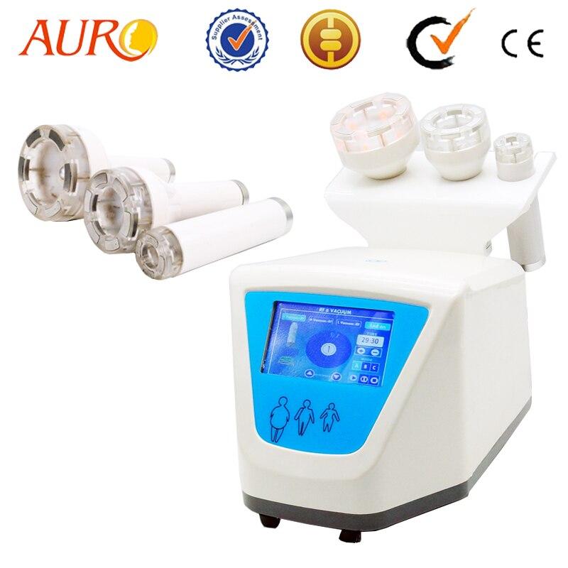 AURO Beauty 2019 New LED RF Vacuum Lymph Drainage Suction Body Massager Multi-Polar RF Vacuum Massage RF Skin Lifting Machine