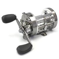 Mounchain Outdoor Metal Smooth High Hardness Gear Trolling Boat Drum Fishing Vessel Right/Left Handed Ice Fishing Reel Gun Color