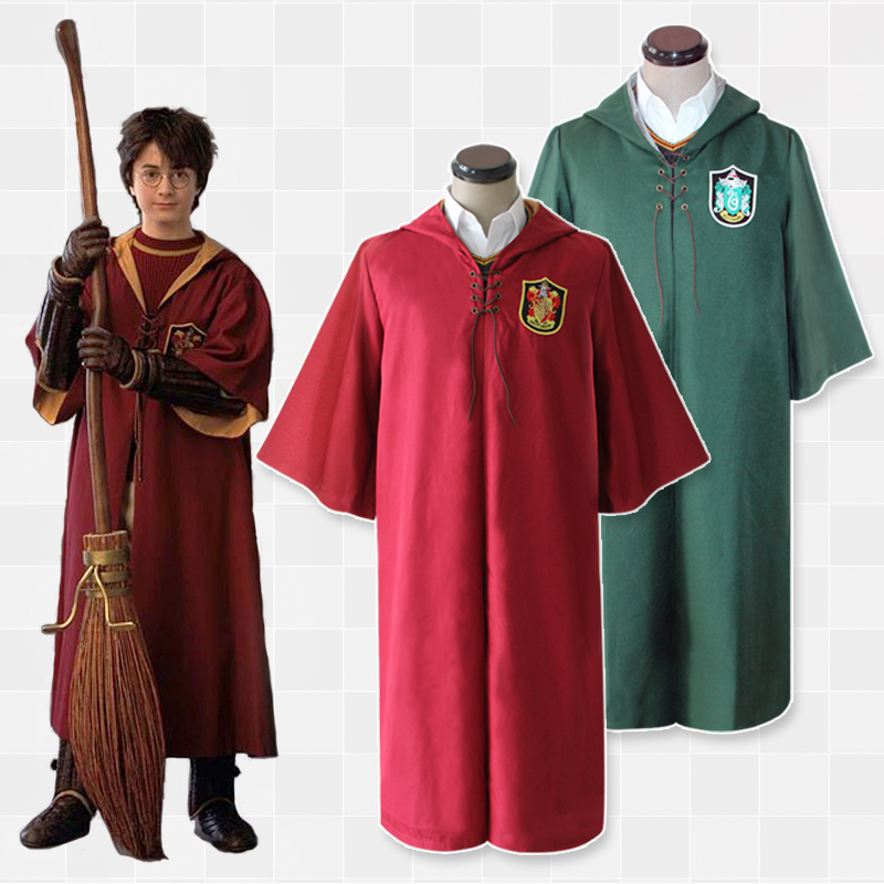 Milky Way Potter Cape Quidditch Robe Cloak Gryffindor Ravenclaw Hufflepuff Harri Quidditch Slytherin Costume