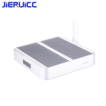 Minipc windows 10 os with intel core i3 i5 i7 fanless cloud computer support hdmi vga dual display 4usb3.0,2usb2.0