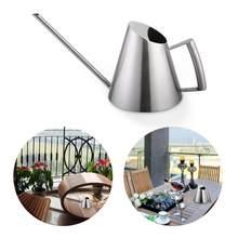 Arrosoir en acier inoxydable, Mini arrosoir à la mode pour le bureau et la maison, pulvérisation à longue bouche, pour jardin et plantation
