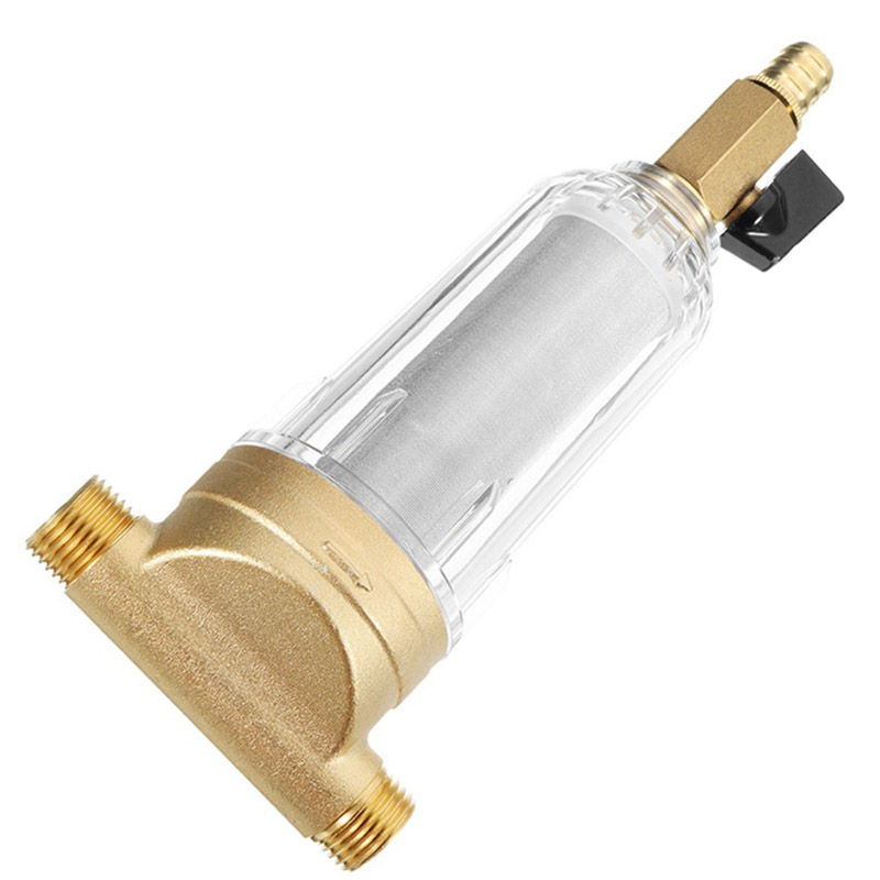 Water Filters Front Purifier Copper Lead Pre-filter Backwash Remove Rust Contaminant Sediment Pipe