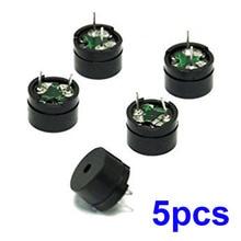 5 Pcs 5V Piezo Sounders Passive Buzzer Component For Arduino
