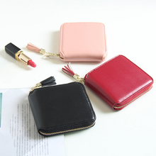 Tassel Women Wallet With Zipper Coin Pocket Card Holder Brand Ladies Purse High Quality Small Wallets Female Cartera HOT eyes in love brand tassel women wallets small synthetic leather zipper coin purse ladies card wallet female purses carteira hot