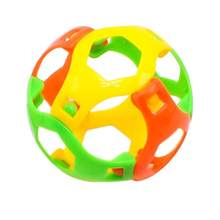 6pcs/lot 3D Puzzle Ball Intellect Ball Toys Game DIY Assembly Plastic Ball Creative Children Early Education Toys(China)