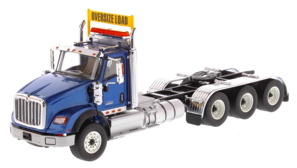 Diecast Masters 1/50 Scale International HX620 Tridem Tractor BLUE DM71010