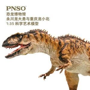 Image 4 - PNSO ChungKingosaurus Yangchuanosaurus dinozor modelleri müze koleksiyonu 1:35