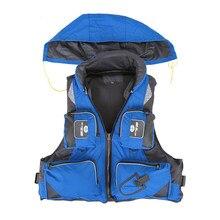 Adultos ajustable flotabilidad de natación de navegación Kayak de pesca  vida chaleco chaqueta conservadoras c7637998d7c1