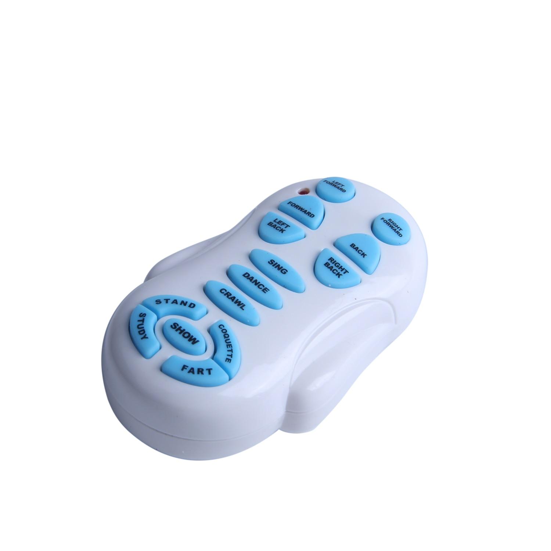 Télécommande sans fil smart robot chien Wang Xing chien électrique éducation précoce jouets éducatifs pour enfants (blanc) - 3