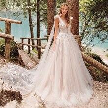 Ashley Carol Beach Wedding Dress Sleeveless Bride Dresses
