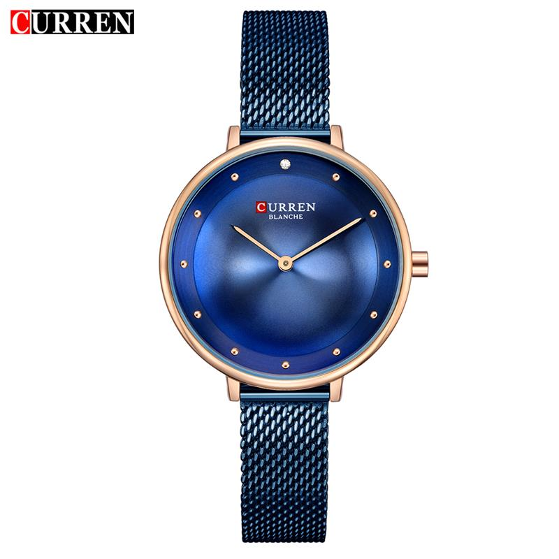 Dropship 2019 Famous Brand Gold Silver Casual Quartz Watch Women Mesh Stainless Steel Dress Women Watches Relogio Feminino Clock