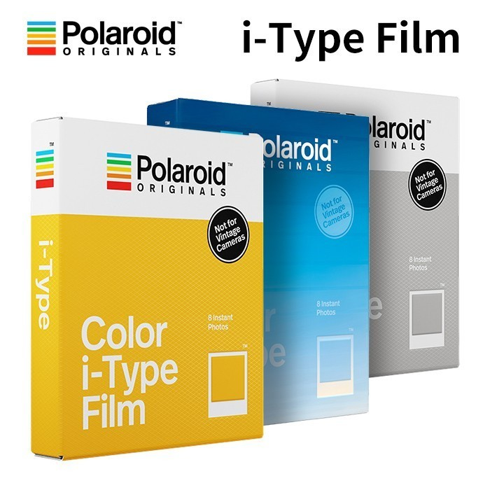 New Genuine Polaroid Originals Instant I-type Film Color And Black White For Onestep2VF Instax Camera