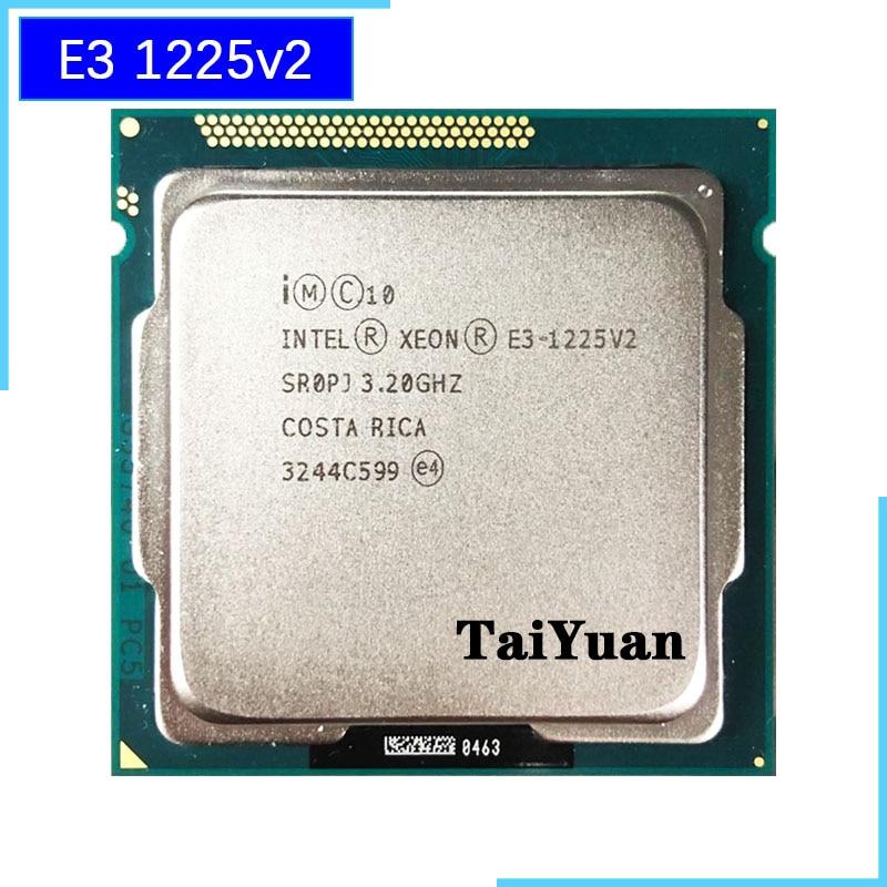 Intel Xeon E3 1225 v2 E3 1225v2 E3 1225 v2 3 2 GHz Quad Core Quad