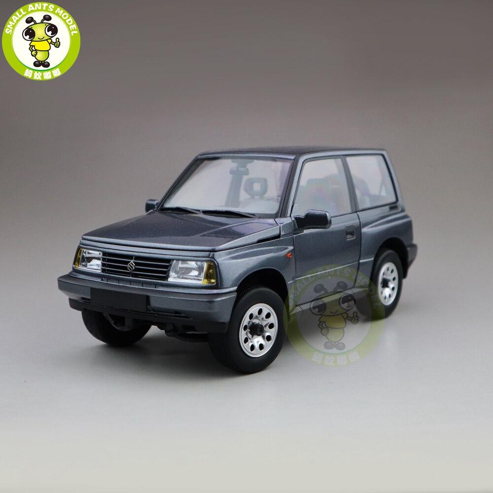 1/18 DORLOP Suzuki Vitara Escudo Left Hand Drive Diecase car Models toys  kids boy girl gifts Gray color