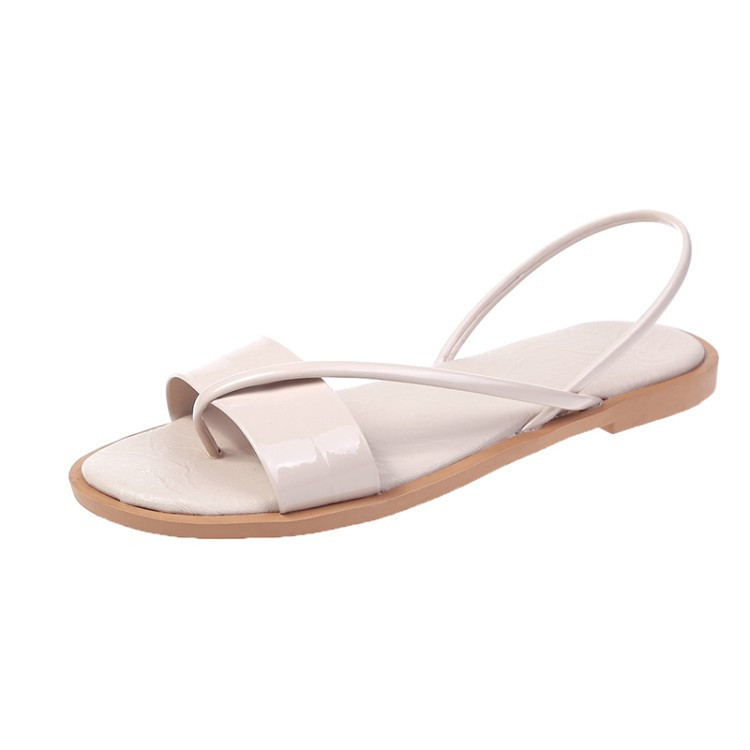 <font><b>Women</b></font> Sandals New Fashion PU Light Non-slip Beach Ladies <font><b>Shoes</b></font> <font><b>Woman</b></font> Zapatos De Zapatillas Mujer <font><b>Flat</b></font> <font><b>Sapato</b></font> <font><b>Feminino</b></font> <font><b>Sexy</b></font> image