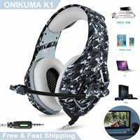 3.5mm Mic Stereo Gaming Headset Headphone for MAC Laptop PS4 Xbox One Gaming Headset Stereo Over Ear Wireless Headphones Hot