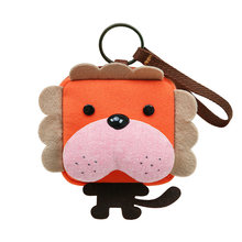 Coin Purses Original cute cartoon art coin bag mini key bag zero zero wallet purse cute square цена 2017