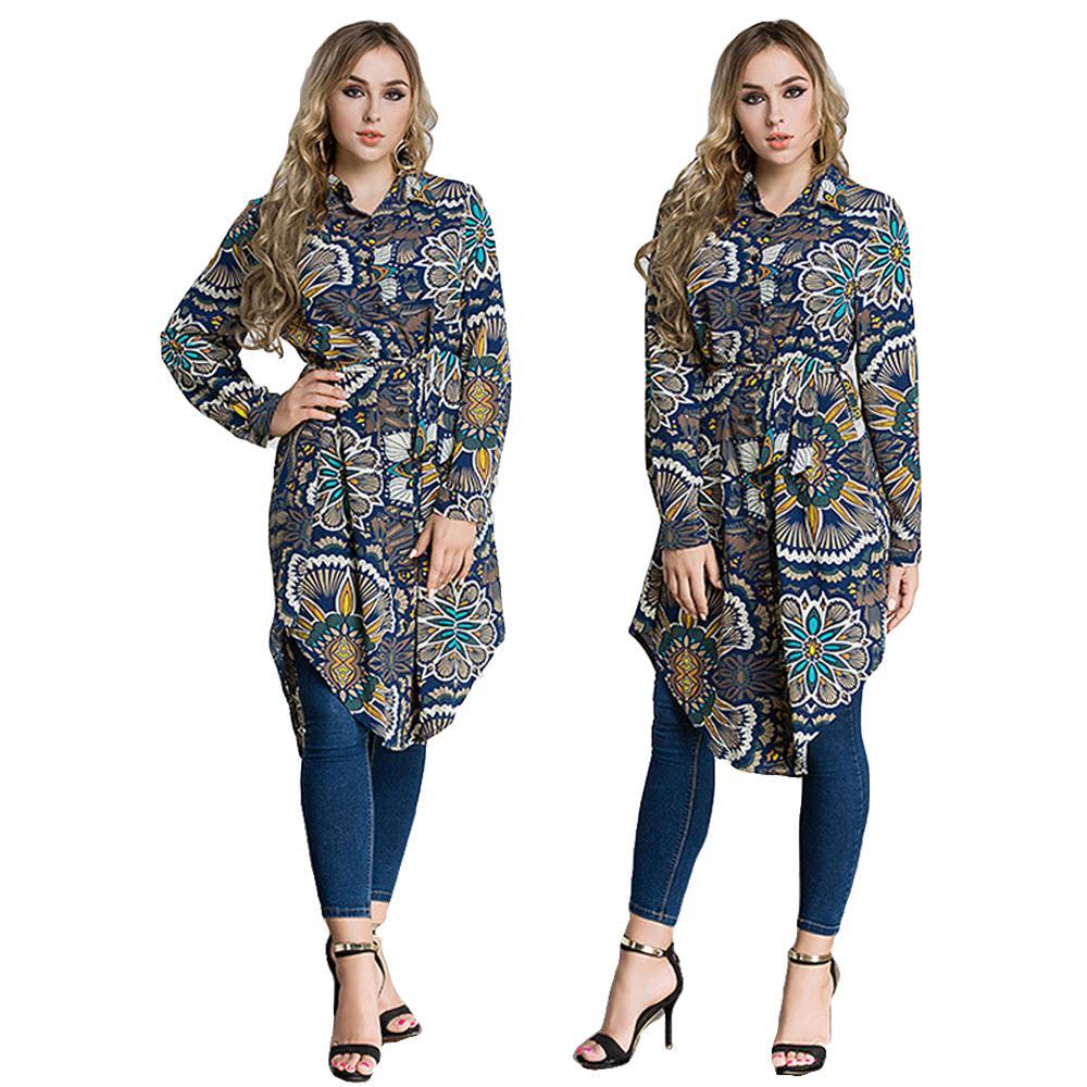 e253bb717de844 Muslim Women Blouse Top Abaya Middle East Shirt Turkish Loose Oversized  Jubah Plus Ramadan Arabic Long