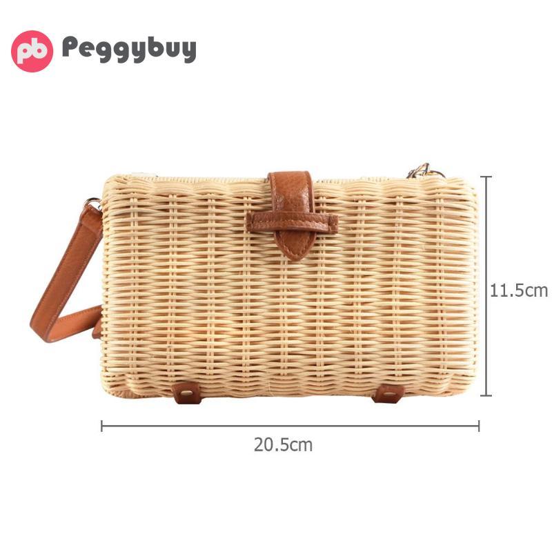Le In Paglia Femenino Spiaggia Borse Vintage Handmade Donne Rattan Bag Sacchetto Boemia Crossbody Nuovo Kintted Per Di Della 2019 Estate Bolso xwnYHqWSC7