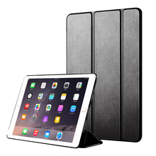 For iPad Pro 9.7 2016 Case Flip PU Leather Trifold Stand Tablet Cover inch Funda A1673/A1674 Smart Sleep