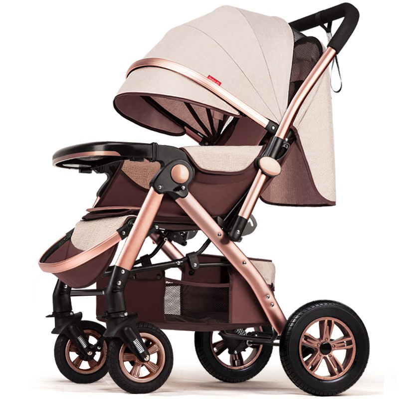 Fast shipping ! High View Baby Trolley Can Sit Can Lie Light Folding Summer Baby Buggy Four-Wheel Baby Stroller Fast shipping ! High View Baby Trolley Can Sit Can Lie Light Folding Summer Baby Buggy Four-Wheel Baby Stroller