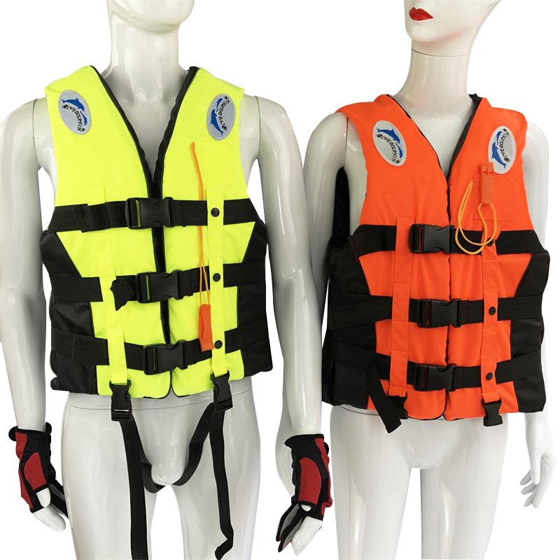 Adult life jacket jackets men vest kayka life vest fishing vest for fishing XXXL Ski Drifting Vest With Whistle Prevention in Life Vest from Sports Entertainment