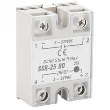 цена на SSR-25 DD 25A 5-220VDC Solid State Relay For Industrial Automation Process High Quality