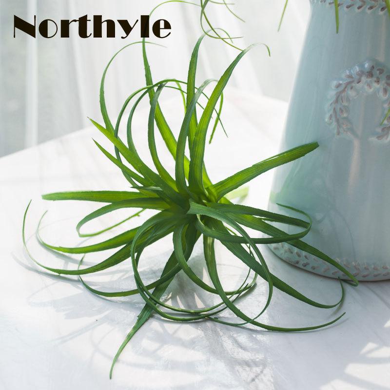 Northyle DIY Fake Air Plant Decor Artificial Plants Home Decoration Accessories Flores Artificiais in Artificial Plants from Home Garden