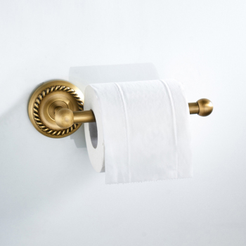 Porte Papier Toilette Or