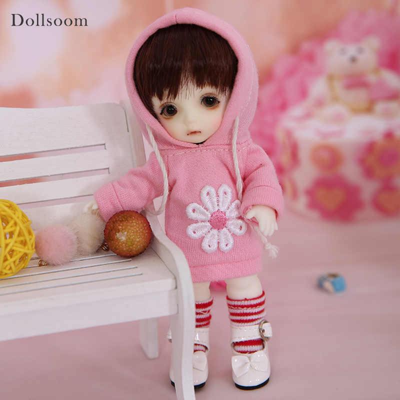 Happy Choo Chika BJD SD кукла 1/8 модель тела для маленьких девочек и мальчиков высокое качество игрушки на день рождения Рождественские лучшие подарки OUENEIFS