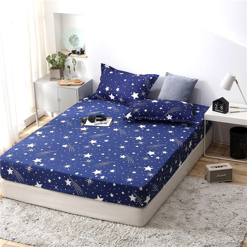 Star Girl Cover Bed Boy  Mattress Cover Breathable Bed Cover Adult Child Mattress Protector Summer Sleeping Mat 2CDT 63002 Mattress Covers & Grippers     - title=