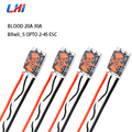 LHI 4pcs/20A 30A Blheli_S OPTO 2-4S Brushless ESC Support Oneshot42 Multishot 16.5 Dshot600 for Especially good for racing drone