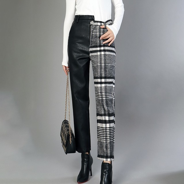 Women's Plaid Pants - 4 Sizes 2