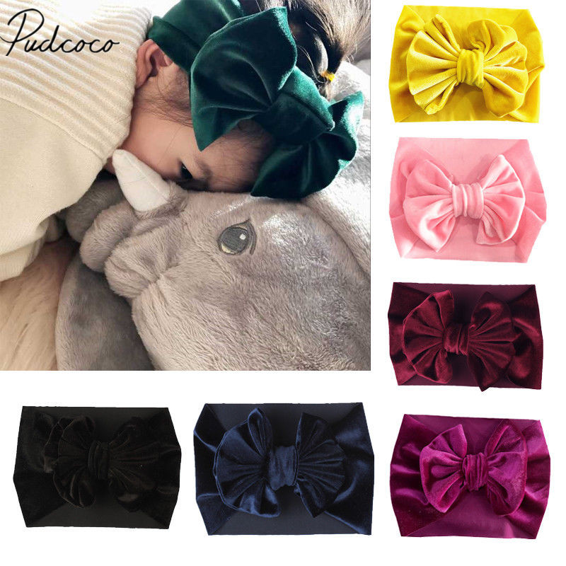 "100 BLESSING Good Girl Headband 3.5/"" Multiple Ring Bowknot Hair Bow 98 No."