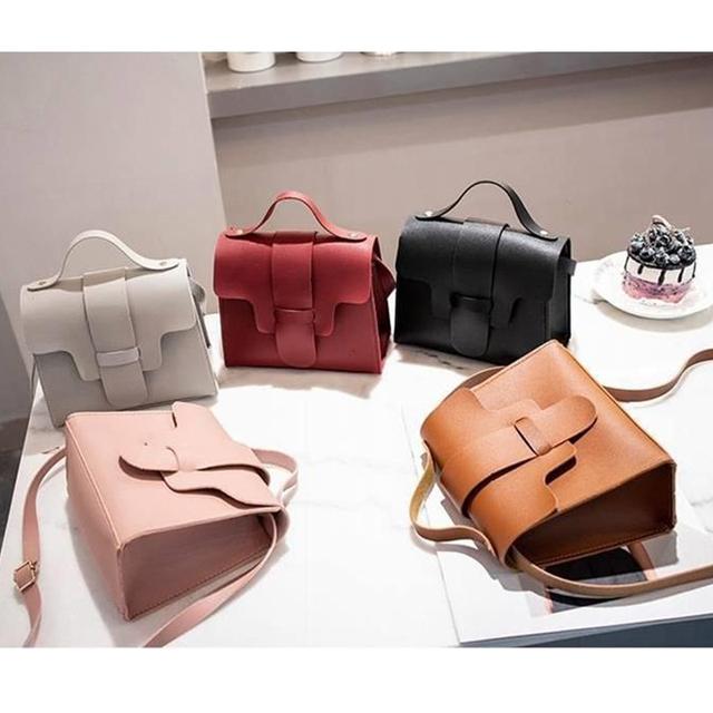 Women Small Handbags Messenger Bag Soft PU Leather Brief Designer Casual Flap Bag Phone Wallet Pack Ladies Crossbody Bags Female