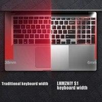 נייד מחברת Feed Me 15.6 מחשב נייד אינץ אינטל J3455 Quad Core 6GB RAM מקלדת IPS 1080P מלאה צמצם מחברת הגבול Bluetooth 4.0 עם RJ45 (4)