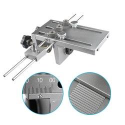 Plantilla de doblez para muebles de conexión rápida montaje para cámara 3 en 1 Kit de guía de perforación para carpintería localizador 1 Juego
