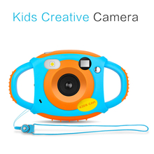 비디오 Gift 어린이 HD Color Image Cartoon Kids Digital Camera 끈 Anti-fall Toy(China)