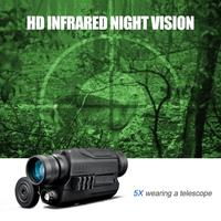 Boshile Monocular Night Vision Infrared Digital Scope for Hunting Telescope 14500 rechargeable lithium battery 2200mAh P4 PJ2