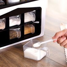 LUDA Kitchen Organizer Spice Rack Seasoning Spices Storage Box Cutlery Rack With Hook Herb & Spice Tools Knife Holder Accessor