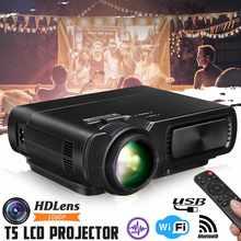 Heim-audio & Video Home Entertainment-system Mini Projektor 7000 Lumen Lcd 1080 P Fhd Wifi Bluetooth Heimkino Android 6.0x5 Audio Lautsprecher Heimkino Kino
