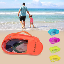 a79927c25 Waterproof Traveling Shoes Bag Portable Shoe Organizer Child Adult Beach    Outdoor Sandals Dust-proof
