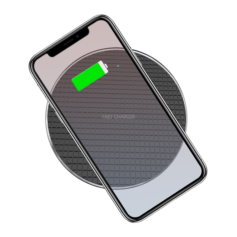 Qi 10W Wireless Charger Pad for iPhone XR XS Max 8 Plus Samsung S8 S9 S10 Plus MateRS 20Pro Mi9 Mobile Phone 7.5W Fast Charging