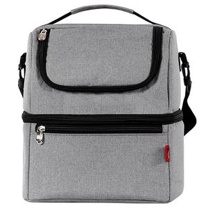 Image 3 - Simple et élégant Thermo sacs à déjeuner boîte à déjeuner thermique pour enfants sac de nourriture sac de pique nique sac à main refroidisseur isolé boîte à déjeuner