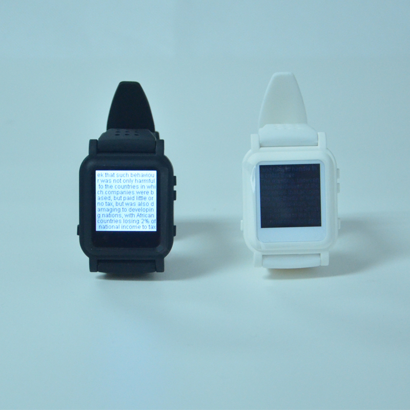 Free shipping <font><b>mp4</b></font> watch 4G or 8GB music video photo txt ebook student watches with emergency button image