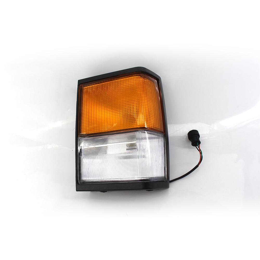 1x Front Left Turn Signal Lights Led Signal Corner light for Range Rover Classic Indicator Sidelight Square Plug OEM PRC8950